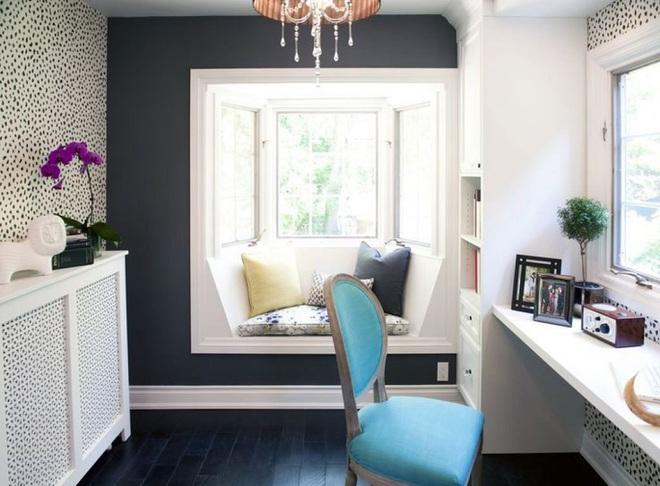Ý tưởng thiết kế ghế bên cửa sổ: Tối giản nhưng tiện ích lớn - Ảnh 6.