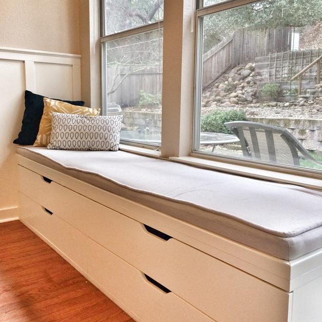 Ý tưởng thiết kế ghế bên cửa sổ: Tối giản nhưng tiện ích lớn - Ảnh 8.