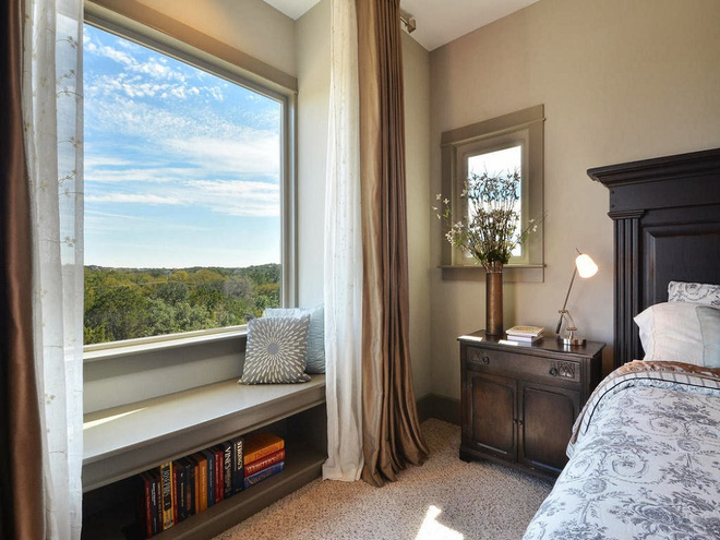 Ý tưởng thiết kế ghế bên cửa sổ: Tối giản nhưng tiện ích lớn - Ảnh 9.