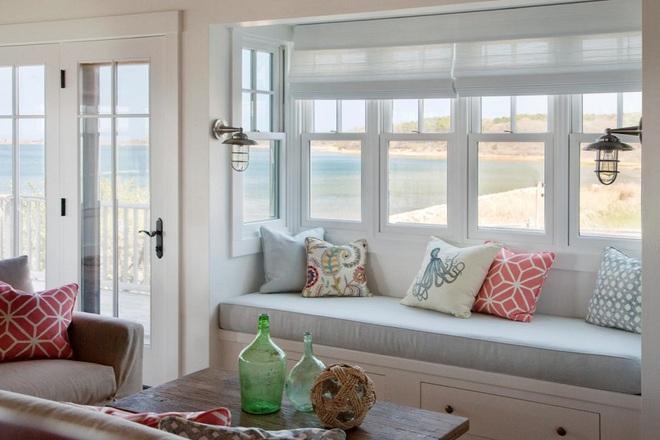 Ý tưởng thiết kế ghế bên cửa sổ: Tối giản nhưng tiện ích lớn - Ảnh 12.
