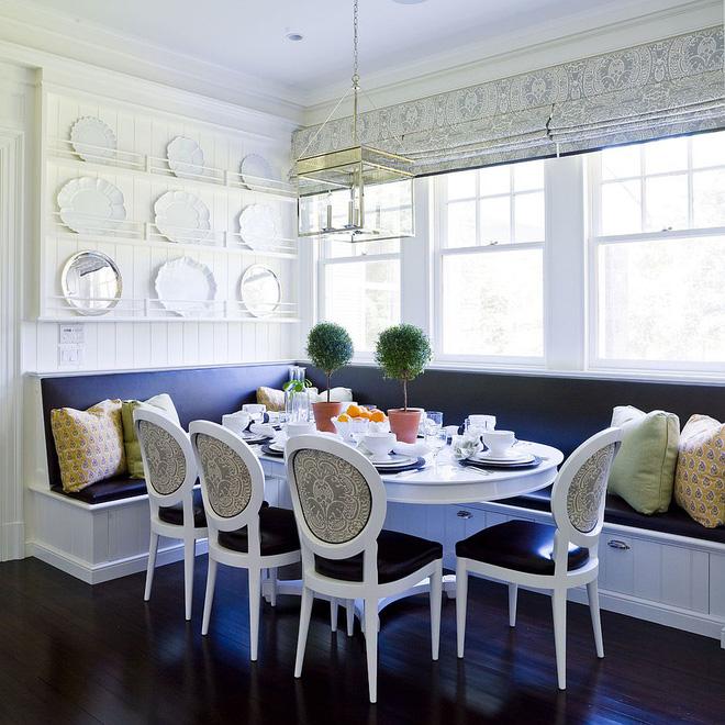 Chỉ cần sắp xếp ghế banquette theo cách này là sẽ có không gian sống tiết kiệm diện tích - Ảnh 2.