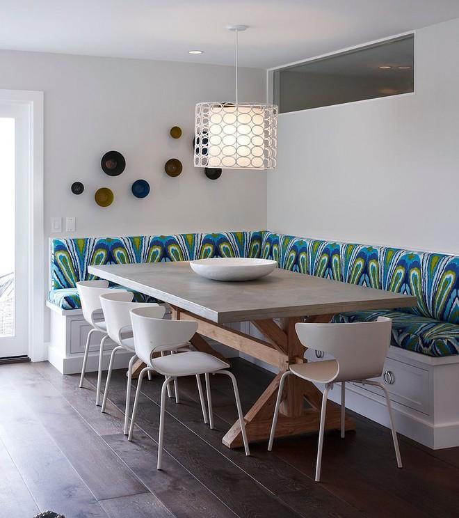 Chỉ cần sắp xếp ghế banquette theo cách này là sẽ có không gian sống tiết kiệm diện tích - Ảnh 3.