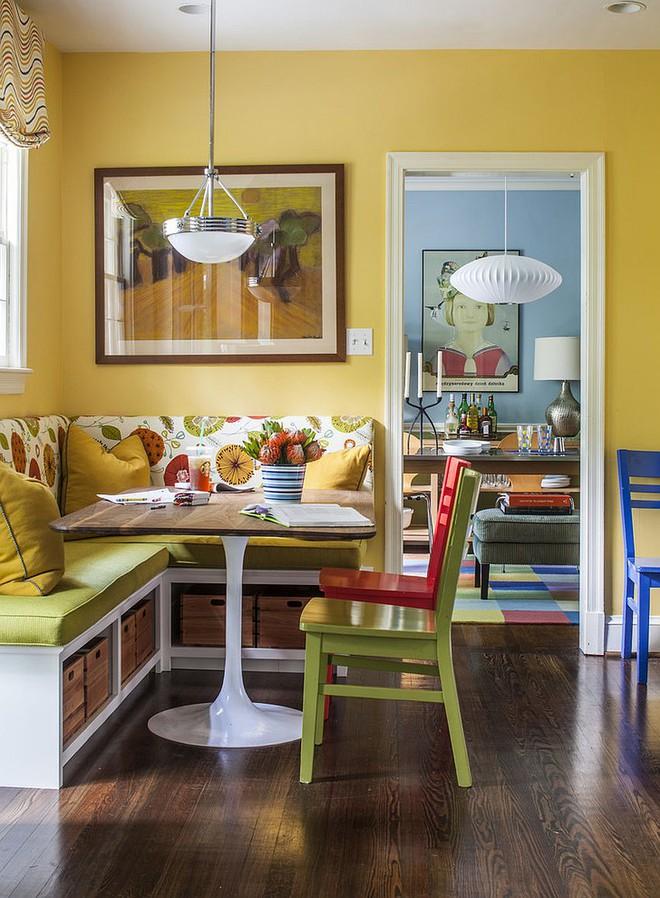 Chỉ cần sắp xếp ghế banquette theo cách này là sẽ có không gian sống tiết kiệm diện tích - Ảnh 4.