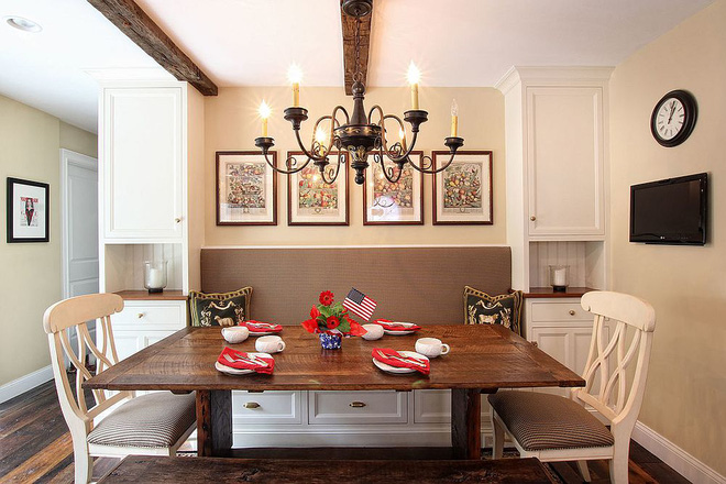 Chỉ cần sắp xếp ghế banquette theo cách này là sẽ có không gian sống tiết kiệm diện tích - Ảnh 6.