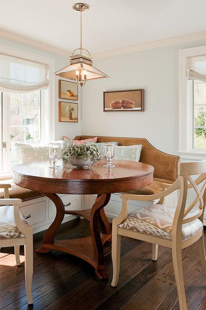 Chỉ cần sắp xếp ghế banquette theo cách này là sẽ có không gian sống tiết kiệm diện tích - Ảnh 10.