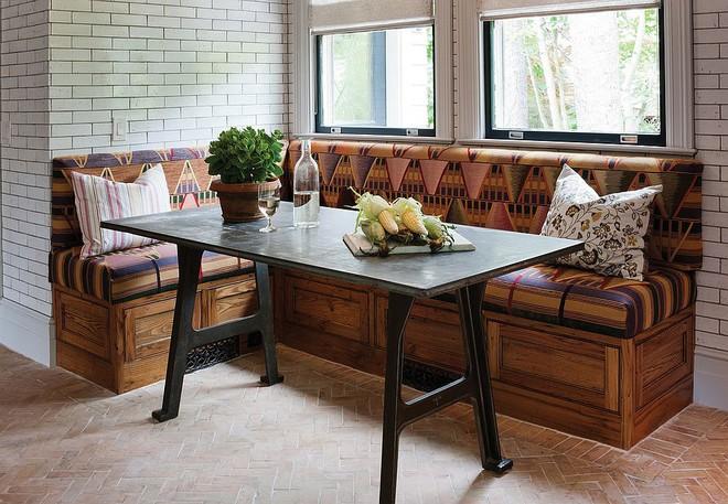 Chỉ cần sắp xếp ghế banquette theo cách này là sẽ có không gian sống tiết kiệm diện tích - Ảnh 19.