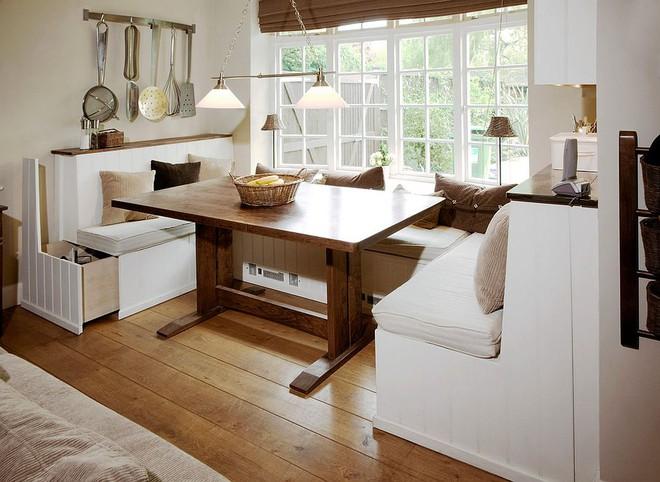 Chỉ cần sắp xếp ghế banquette theo cách này là sẽ có không gian sống tiết kiệm diện tích - Ảnh 25.