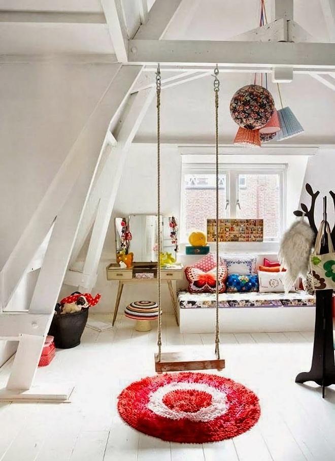 Swing: Ý tưởng thiết kế mà trẻ con hay người lớn đều ao ước được có trong nhà - Ảnh 3.