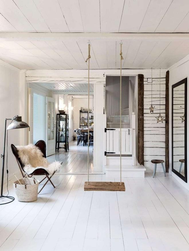 Swing: Ý tưởng thiết kế mà trẻ con hay người lớn đều ao ước được có trong nhà - Ảnh 8.