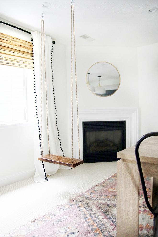 Swing: Ý tưởng thiết kế mà trẻ con hay người lớn đều ao ước được có trong nhà - Ảnh 9.