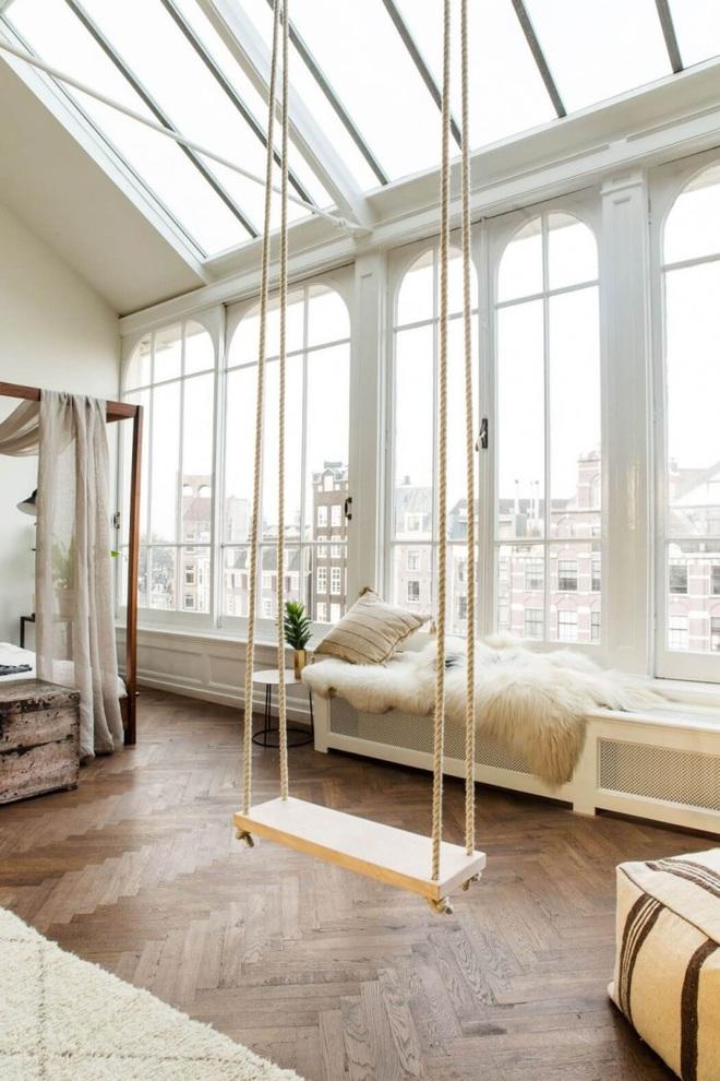 Swing: Ý tưởng thiết kế mà trẻ con hay người lớn đều ao ước được có trong nhà - Ảnh 19.