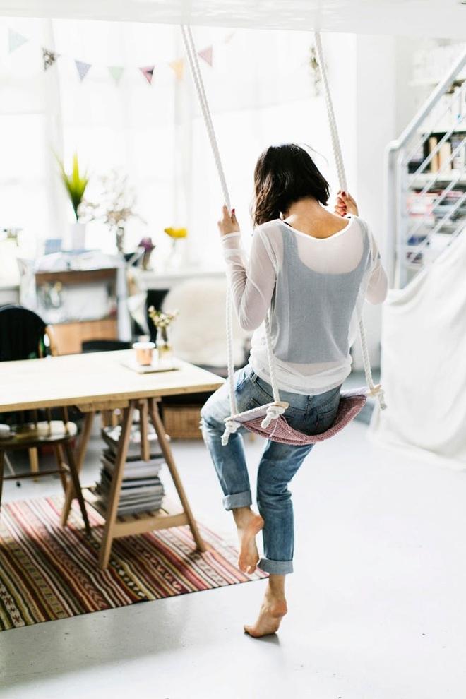 Swing: Ý tưởng thiết kế mà trẻ con hay người lớn đều ao ước được có trong nhà - Ảnh 20.