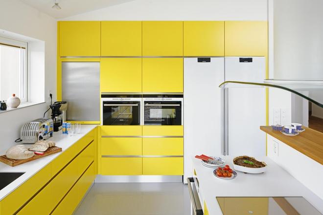 Những phòng bếp làm bừng sáng không gian sống gia đình - Ảnh 4.