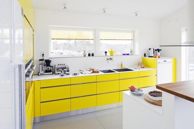 Những phòng bếp làm bừng sáng không gian sống gia đình - Ảnh 5.