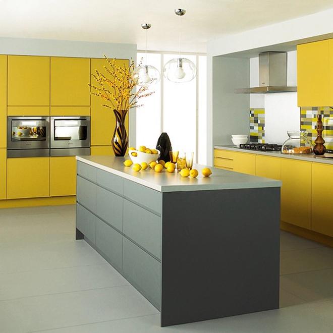 Những phòng bếp làm bừng sáng không gian sống gia đình - Ảnh 8.