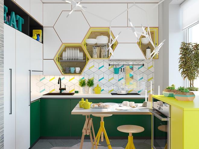 Những phòng bếp làm bừng sáng không gian sống gia đình - Ảnh 10.
