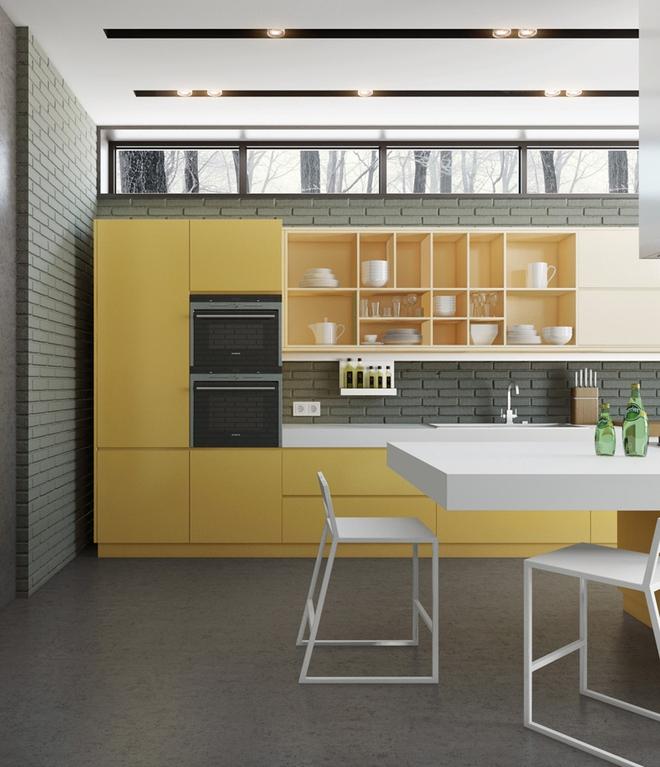 Những phòng bếp làm bừng sáng không gian sống gia đình - Ảnh 12.