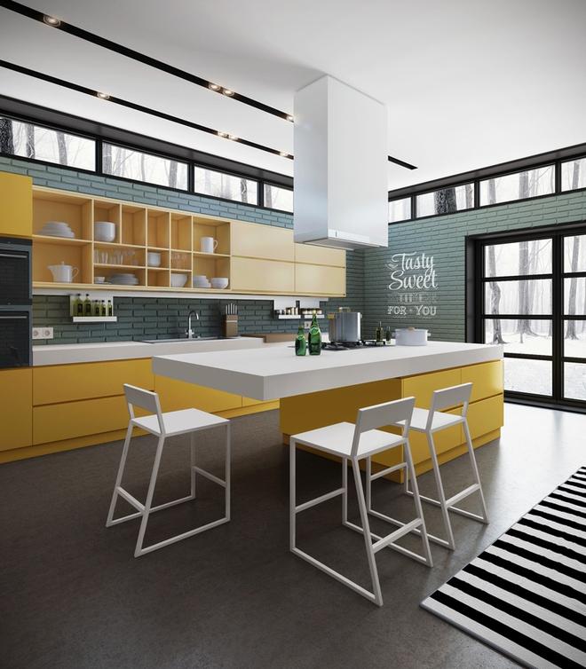 Những phòng bếp làm bừng sáng không gian sống gia đình - Ảnh 13.