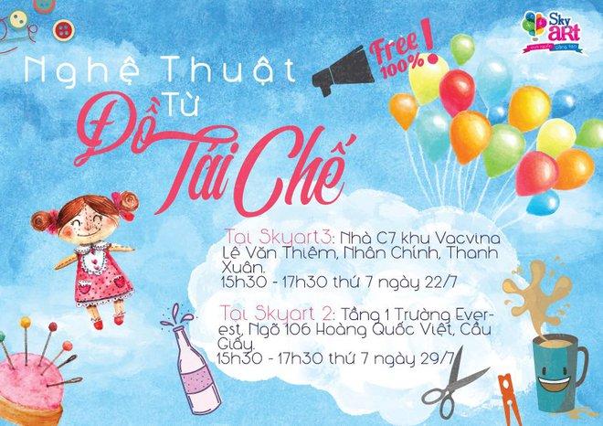 Loạt sự kiện vui, đã mà ý nghĩa ở Hà Nội, Sài Gòn để vui chơi đúng nghĩa chơi cuối tuần - Ảnh 4.