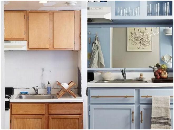 Sự thay đổi ngoạn mục của 14 căn bếp nhỏ sau khi cải tạo - Ảnh 1.