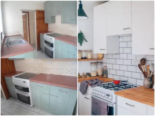 Sự thay đổi ngoạn mục của 14 căn bếp nhỏ sau khi cải tạo - Ảnh 2.