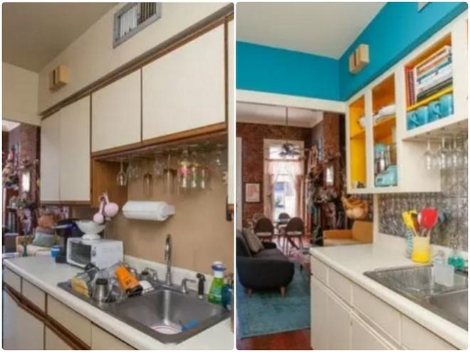 Sự thay đổi ngoạn mục của 14 căn bếp nhỏ sau khi cải tạo - Ảnh 5.