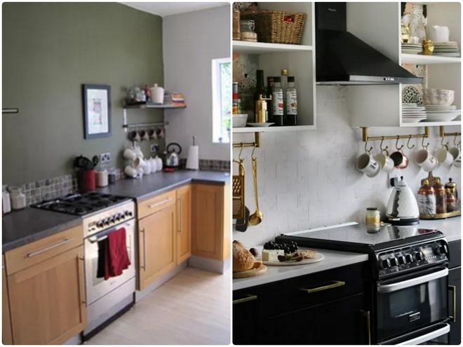 Sự thay đổi ngoạn mục của 14 căn bếp nhỏ sau khi cải tạo - Ảnh 6.
