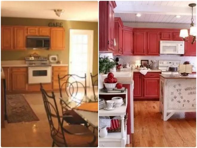 Sự thay đổi ngoạn mục của 14 căn bếp nhỏ sau khi cải tạo - Ảnh 9.