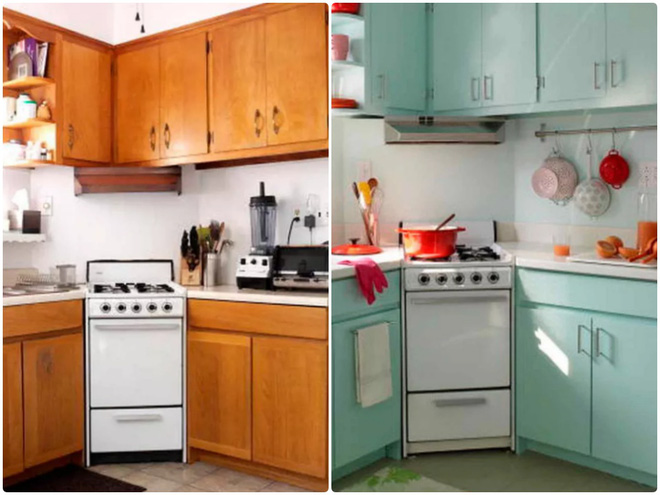 Sự thay đổi ngoạn mục của 14 căn bếp nhỏ sau khi cải tạo - Ảnh 11.