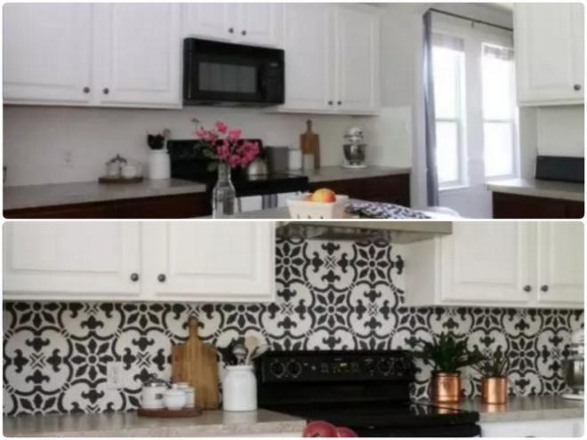 Sự thay đổi ngoạn mục của 14 căn bếp nhỏ sau khi cải tạo - Ảnh 12.