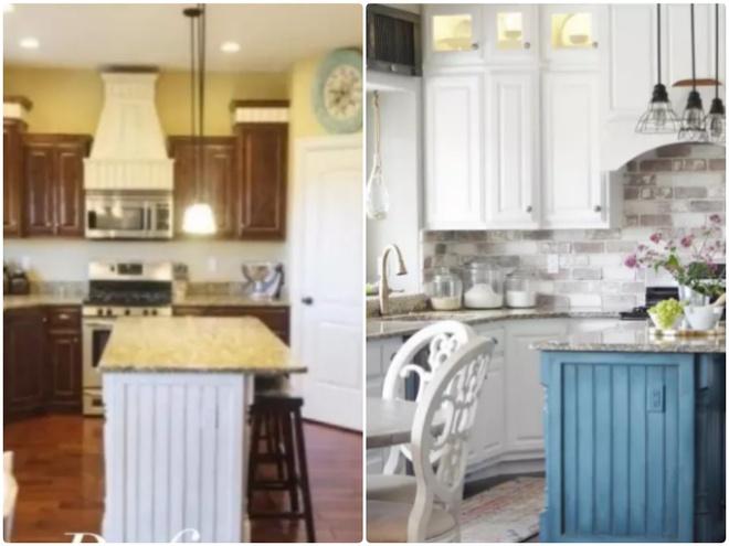 Sự thay đổi ngoạn mục của 14 căn bếp nhỏ sau khi cải tạo - Ảnh 13.