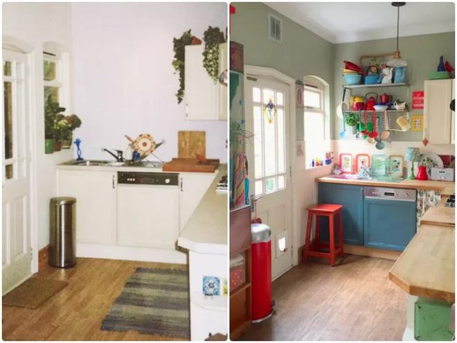 Sự thay đổi ngoạn mục của 14 căn bếp nhỏ sau khi cải tạo - Ảnh 14.