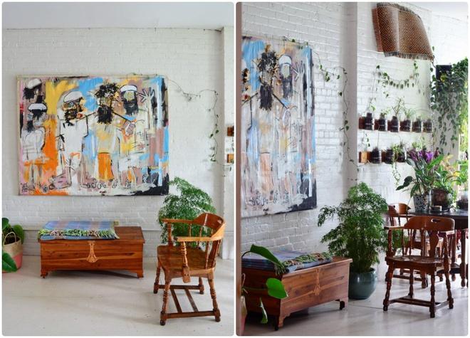 Cô gái độc thân biến căn hộ nhỏ ở chung cư cao tầng của mình thành vườn cây trong phố - ảnh 10