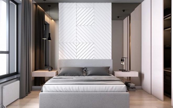 Ngắm những phòng ngủ màu xám nhưng không hề u ám và nhàm chán - Ảnh 5.
