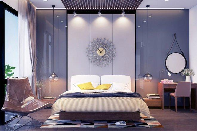 Ngắm những phòng ngủ màu xám nhưng không hề u ám và nhàm chán - Ảnh 7.