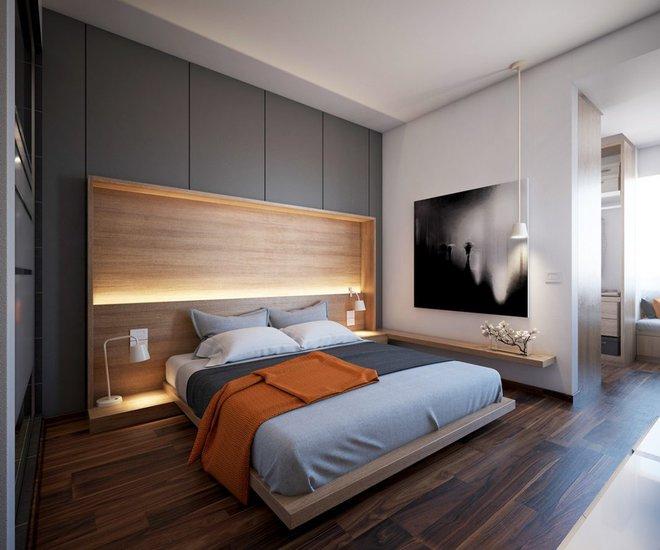 Ngắm những phòng ngủ màu xám nhưng không hề u ám và nhàm chán - Ảnh 8.