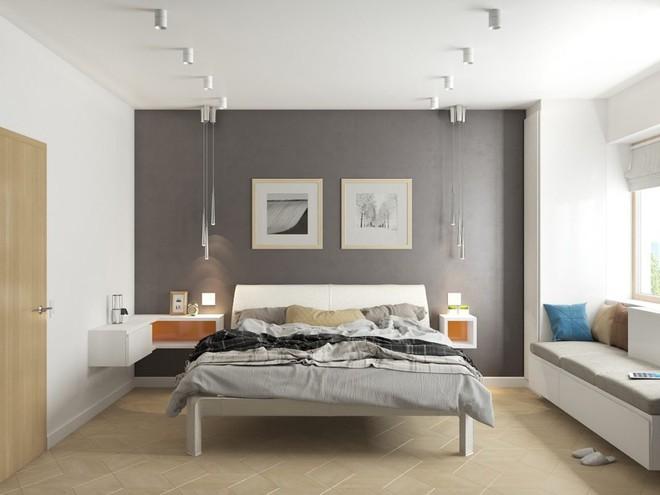 Ngắm những phòng ngủ màu xám nhưng không hề u ám và nhàm chán - Ảnh 11.