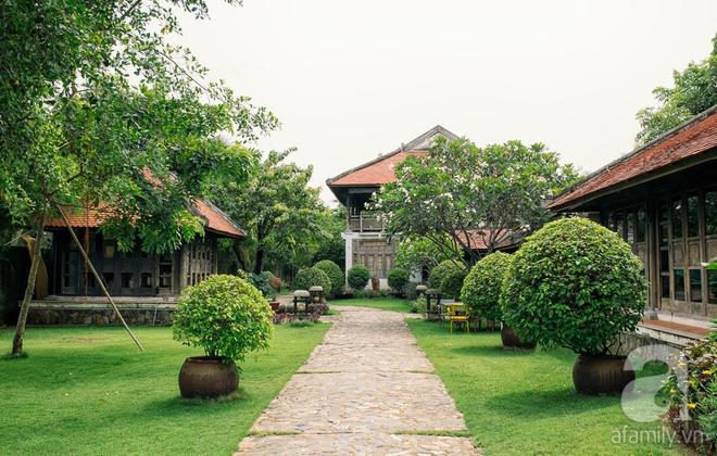 Nhà vườn mang đậm hồn Việt giữa lòng Sài Gòn của Á hậu quý bà Thu Hương - Ảnh 4.