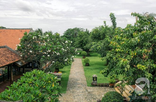 Nhà vườn mang đậm hồn Việt giữa lòng Sài Gòn của Á hậu quý bà Thu Hương - Ảnh 6.