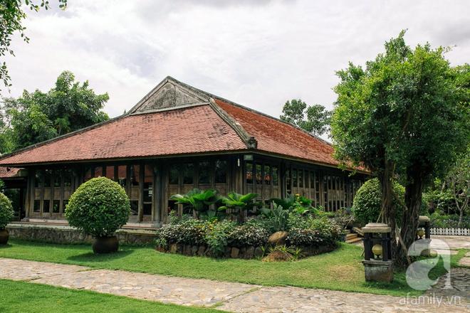Nhà vườn mang đậm hồn Việt giữa lòng Sài Gòn của Á hậu quý bà Thu Hương - Ảnh 8.
