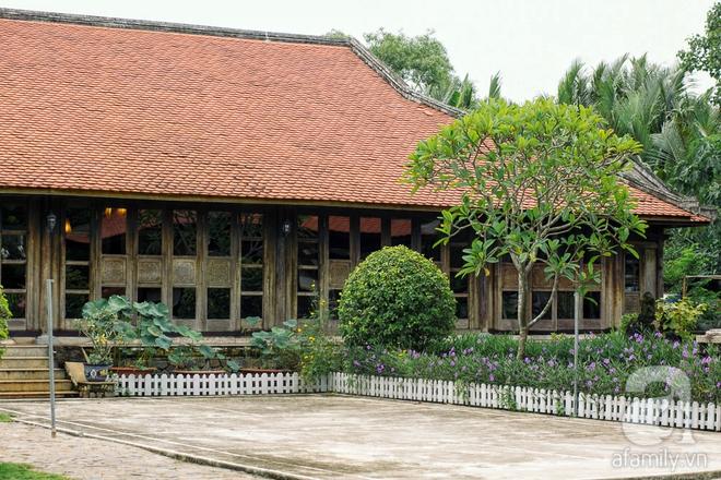 Nhà vườn mang đậm hồn Việt giữa lòng Sài Gòn của Á hậu quý bà Thu Hương - Ảnh 9.