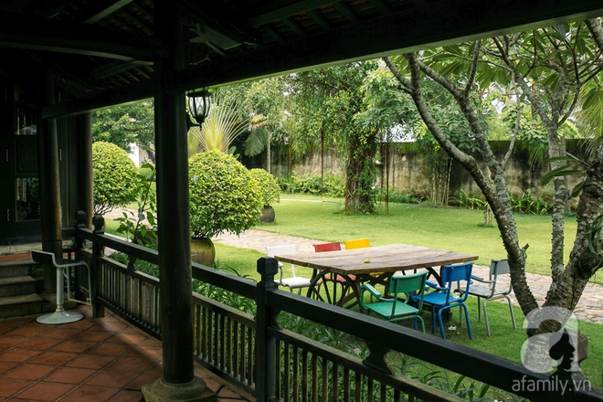 Nhà vườn mang đậm hồn Việt giữa lòng Sài Gòn của Á hậu quý bà Thu Hương - Ảnh 14.