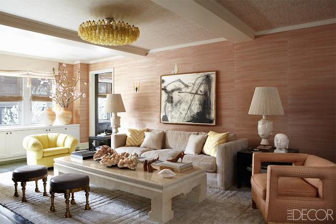 Gợi ý trang trí nhà với gam màu hồng nhạt dịu dàng - Ảnh 3.