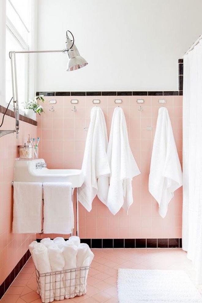 Gợi ý trang trí nhà với gam màu hồng nhạt dịu dàng - Ảnh 9.