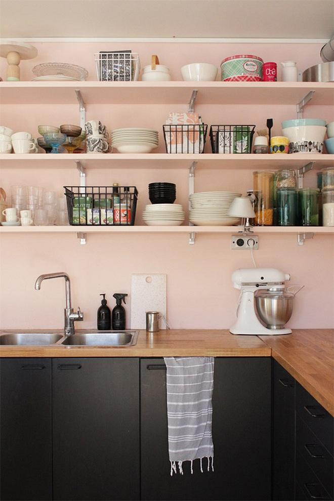 Gợi ý trang trí nhà với gam màu hồng nhạt dịu dàng - Ảnh 10.