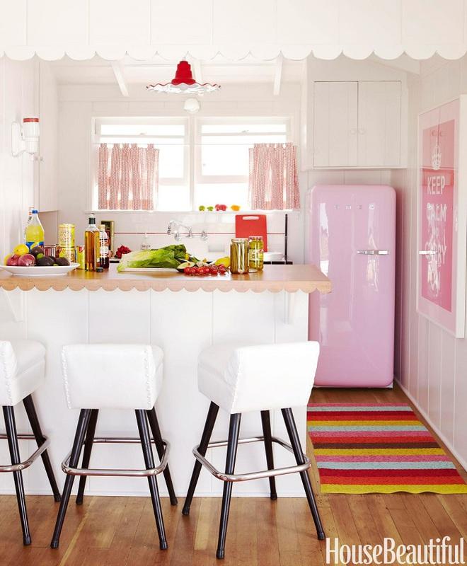 Gợi ý trang trí nhà với gam màu hồng nhạt dịu dàng - Ảnh 12.