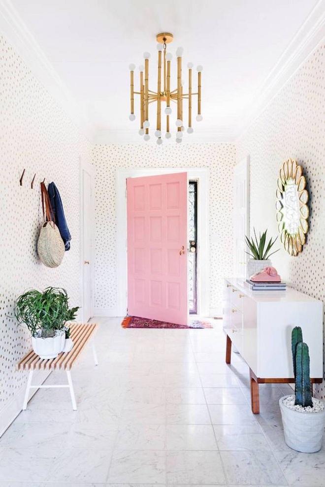 Gợi ý trang trí nhà với gam màu hồng nhạt dịu dàng - Ảnh 14.