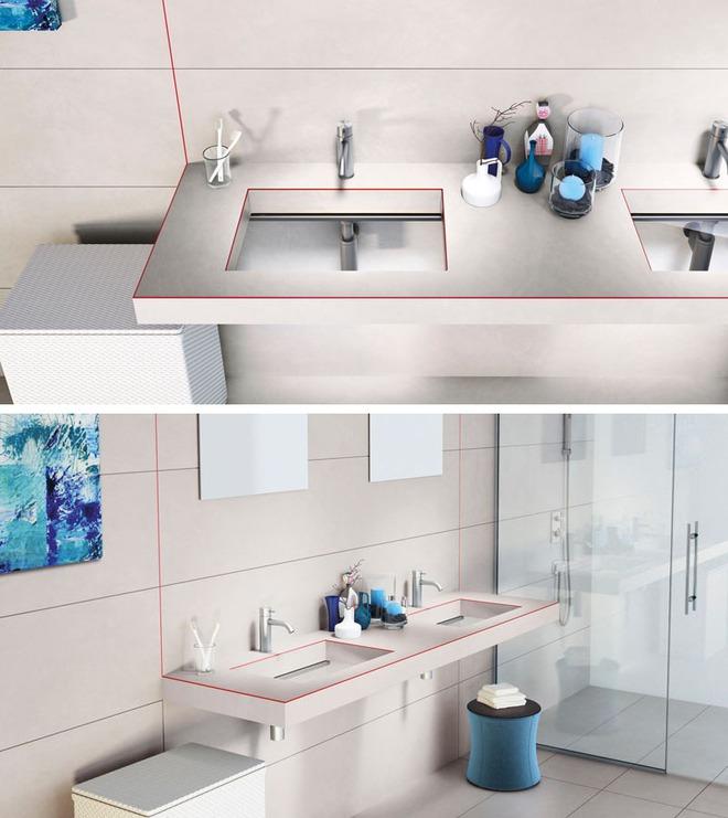 Muốn nhà tắm đẹp chỉ cần sắm một chiếc bồn rửa thế này là đủ - Ảnh 4.