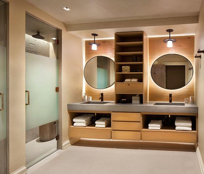 Muốn nhà tắm đẹp chỉ cần sắm một chiếc bồn rửa thế này là đủ - Ảnh 7.