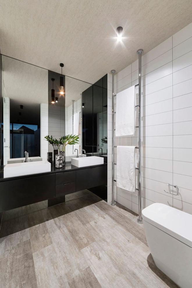 Muốn nhà tắm đẹp chỉ cần sắm một chiếc bồn rửa thế này là đủ - Ảnh 11.